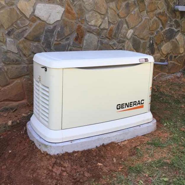 generator size, generator installation, generac generator size